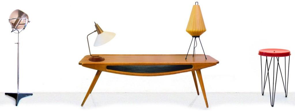 vintage furniture dealer, mid-century, modern
