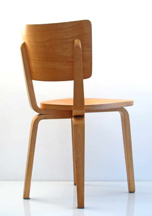 2 Cor Alons retro fifties plywood chairs