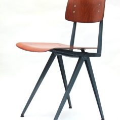 2 Industrial 60s vintage chairs