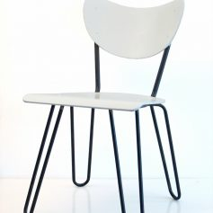 2 Lemafa retro plywood chairs