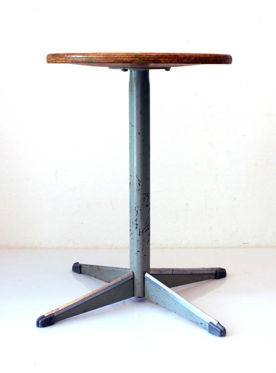 3 fifties industrial stools