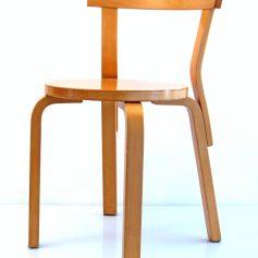 4 Alvar Aalto vintage 68 chairs