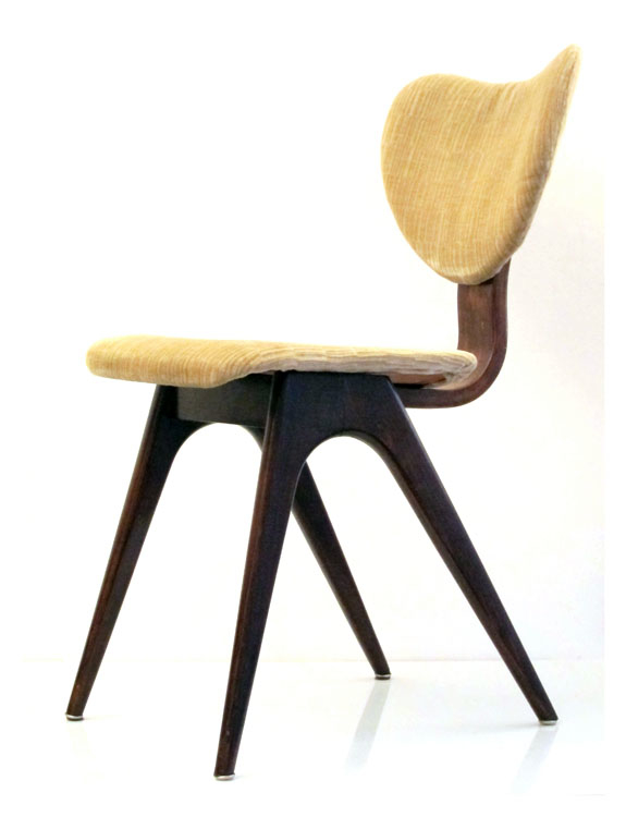 Pastoe cees braakman retro plywood chair mid century for Bom design furniture