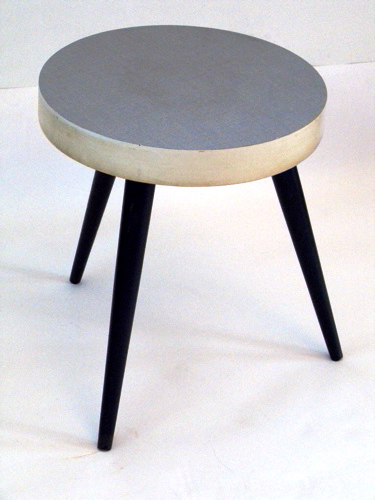 50s retro tabouret or side table