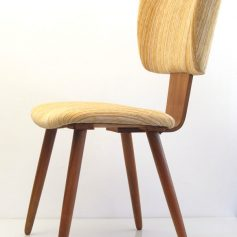 Cees Braakman Pastoe fifties plywood chair
