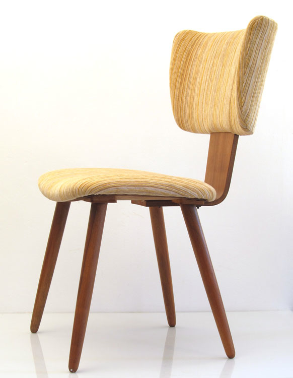 Cees braakman pastoe fifties plywood chair for 50s chair design