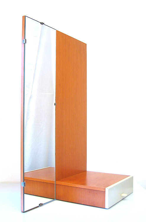 Cees Braakman, Pastoe mirror with drawer