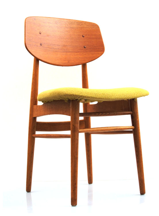 ... / All Seating / Danish fifties Farstrup uphostered wooden chair