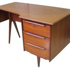 Danish sixties wooden desk