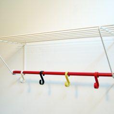 Eames style fifties coat hanger