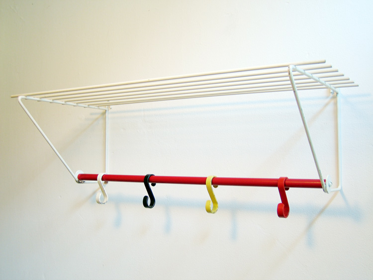 Eames style fifties coat hanger