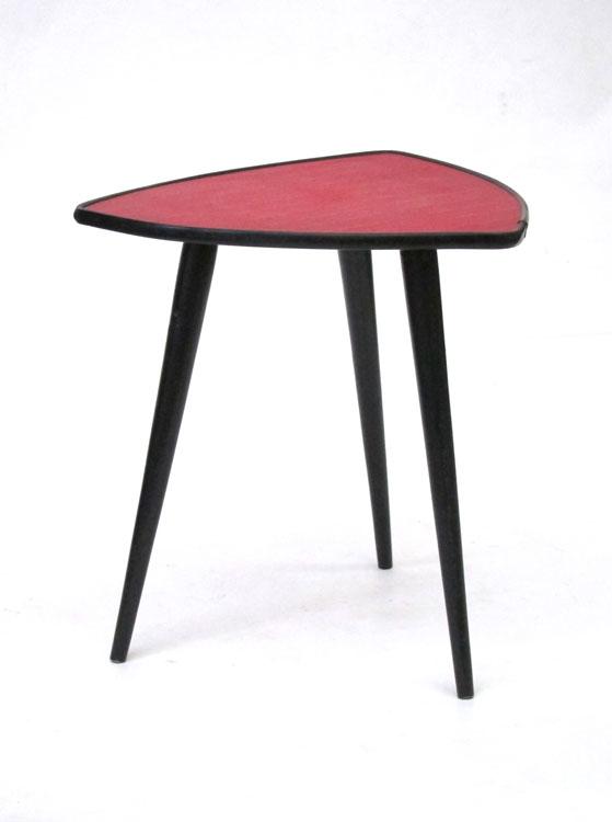 Fiffties Triangular Vintage Side Table Bdf