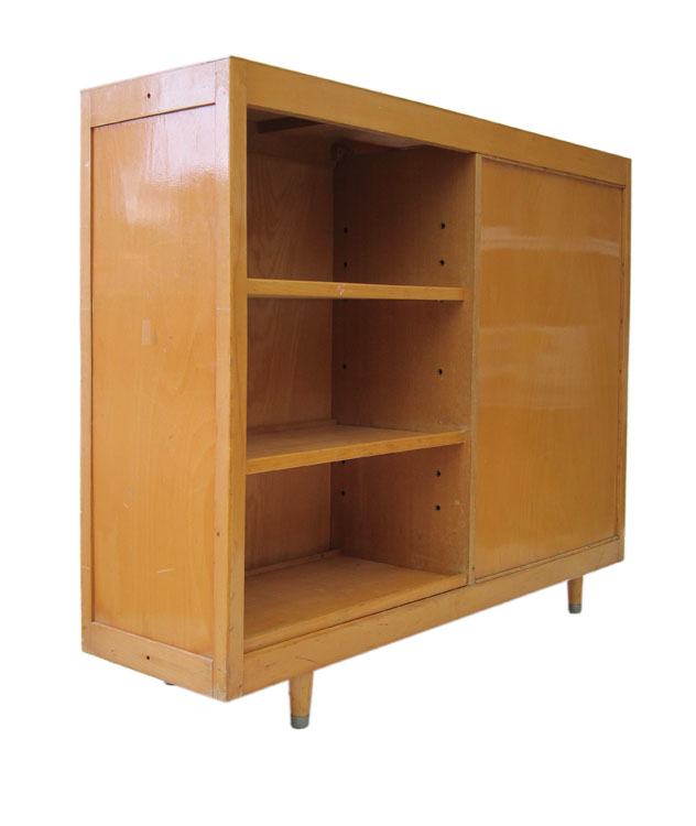 Fifities tetro bookcase with two sides