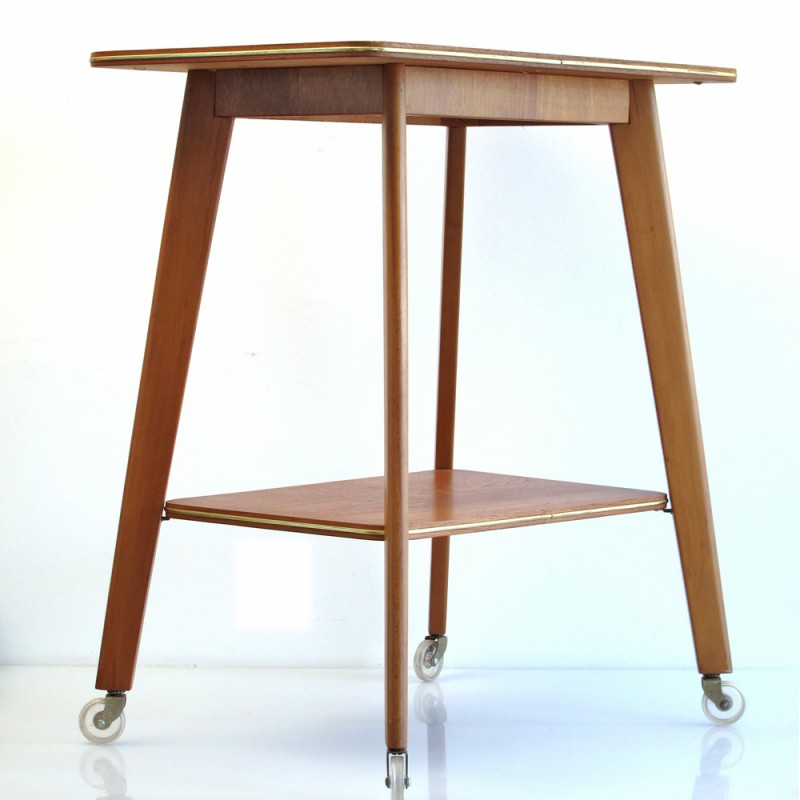Fifties Tea Trolley, wood