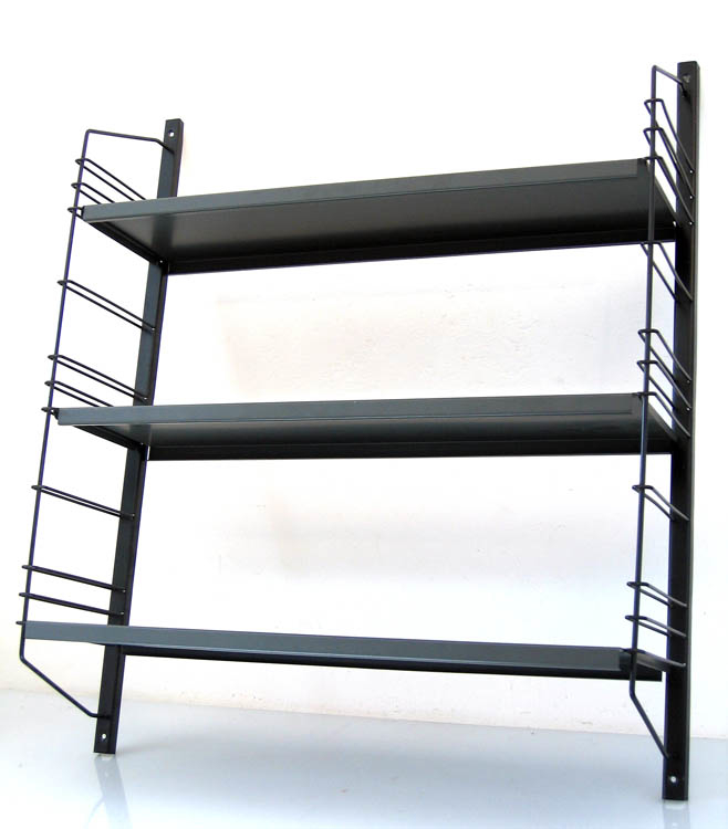 Fifties metal bookshelf