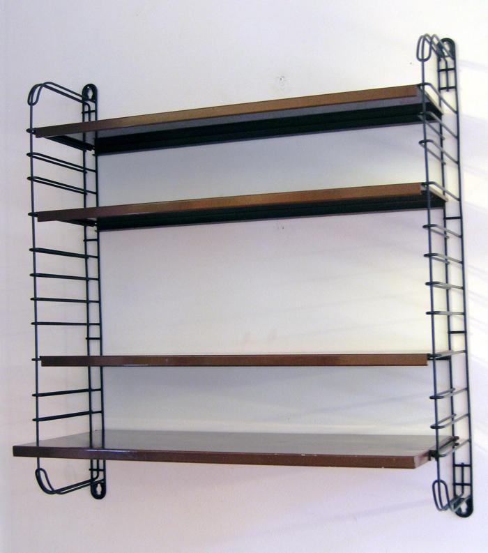 Fifties metal wall unit