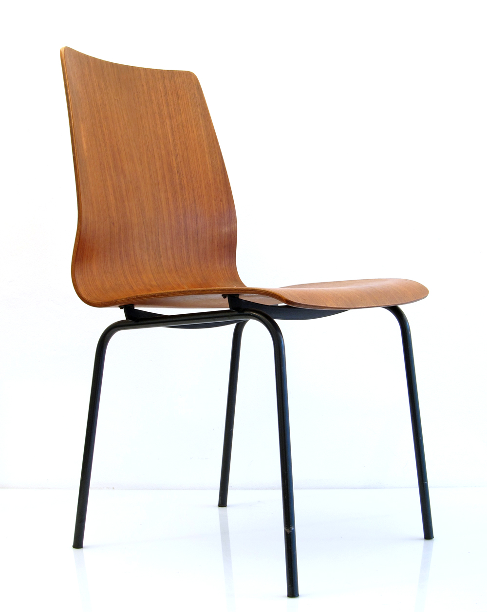 Friso kramer auping retro teak plywood chair for Chair design retro