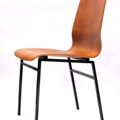 Friso Kramer Auping sixties teak plywood chair