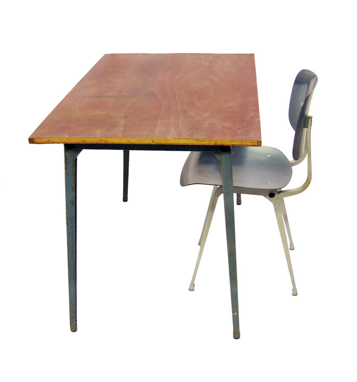 1964 Rare Friso Kramer Coffee Table For Ahrend De Cirkel: Friso Kramer Fifties Reform Table