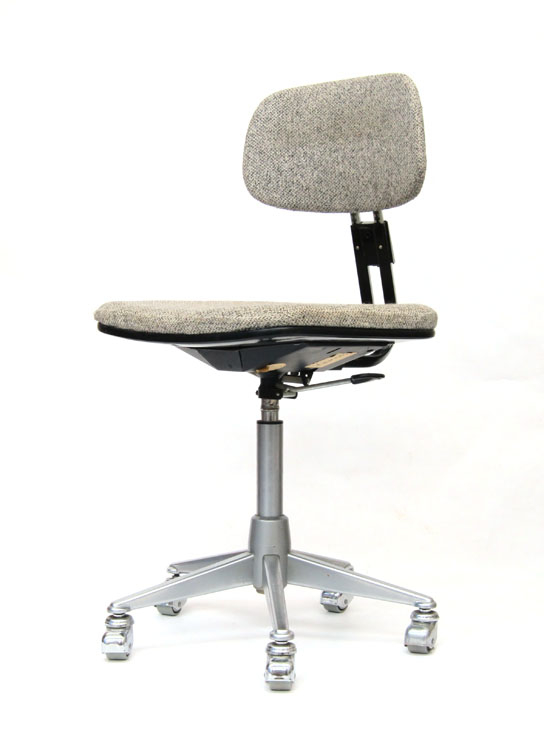Friso Kramer sixties metal adjustable desk chair