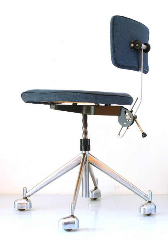 KEVI adjustable retro scandinavian office chair