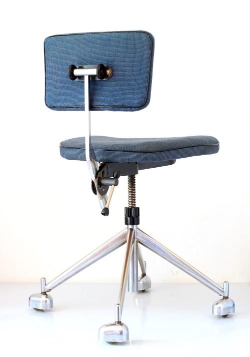 KEVI adjustable retro scandinavian office chair