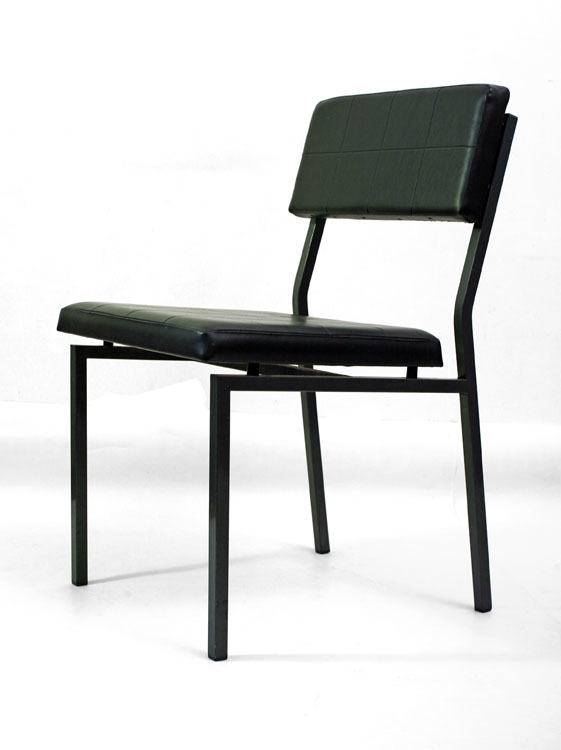 Martin Visser sixties metal chair