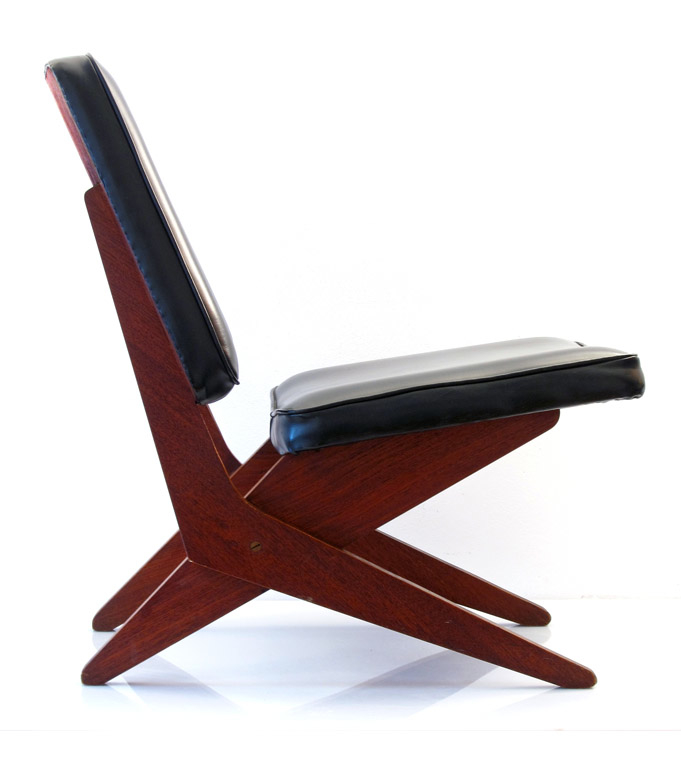 Pastoe fb 18 scissor lounge chair by jan van grunsven for Bom design furniture
