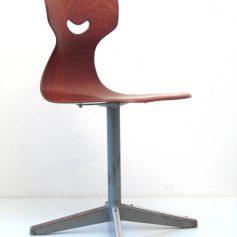 Plywood vintage childrens chair
