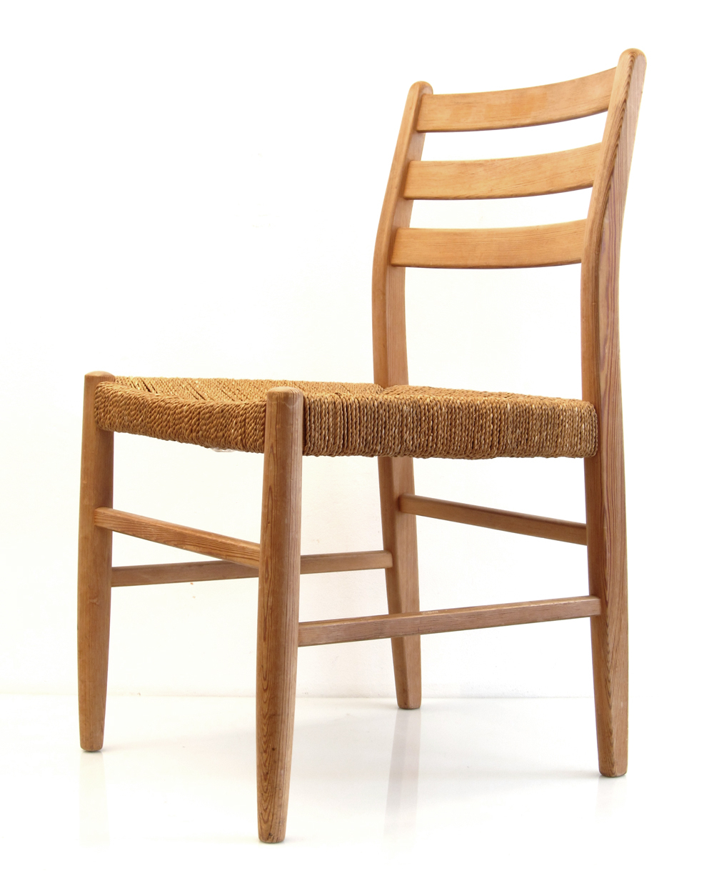 Scandinavian Wooden Retro Chair