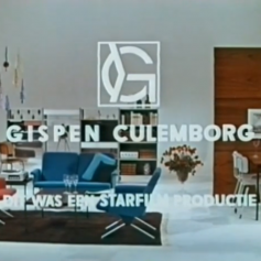 "Gispen Commercial ""Danseresje"" 1963"