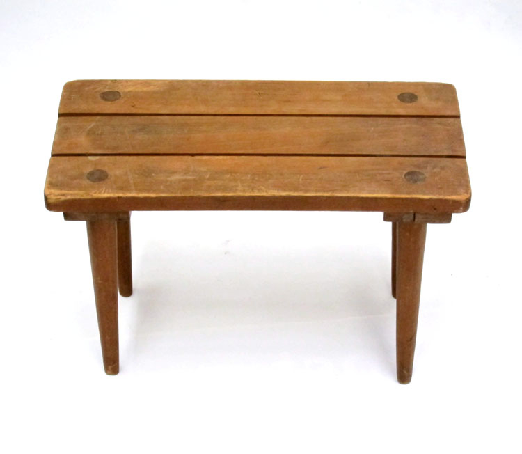 Small fifties wooden side table for Small wooden side table