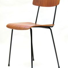 Tjerk Reijenga Pilastro sixties plywood teak chair