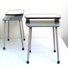 Two retro sixties bedside cabinets