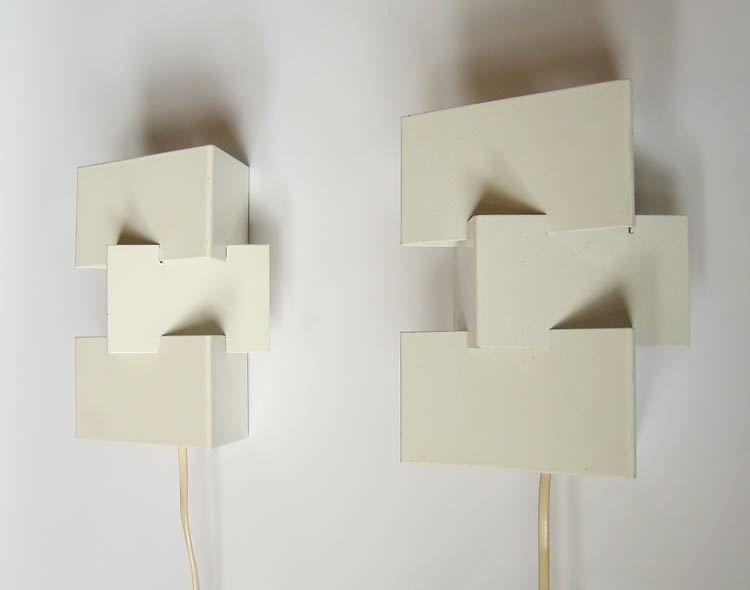 2 Anvia sculptural vintagee sconce wall lamps