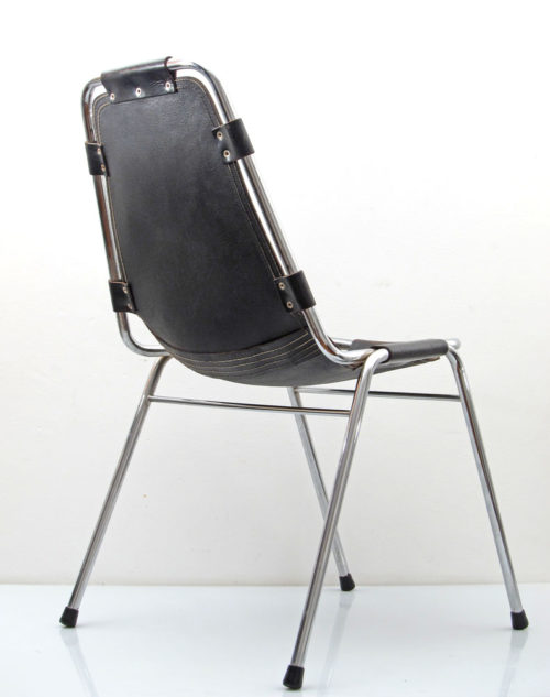 2 Charlotte Perriand Les Arcs sixties vintage chairs
