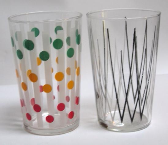 2 Fifties retro glasses