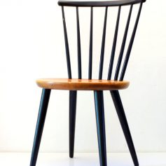 2 Finland style chairs wood, 50s, vintage retro