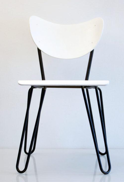 2 Lemafa retro plywood chairs