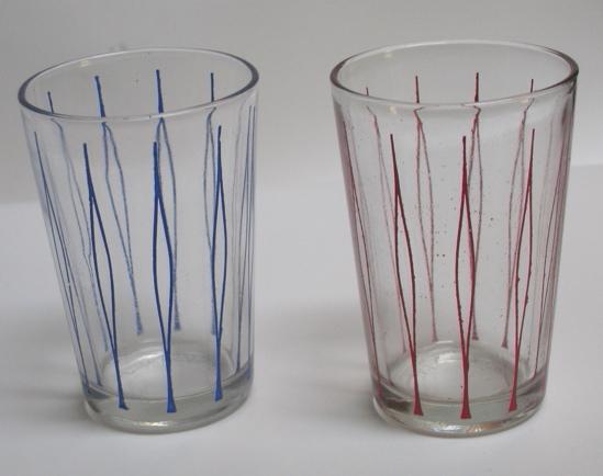 3 Fifties vintage retro glasses