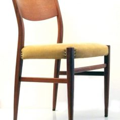 4 Cees Braakman Pastoe 50s dining chairs, vintage retro