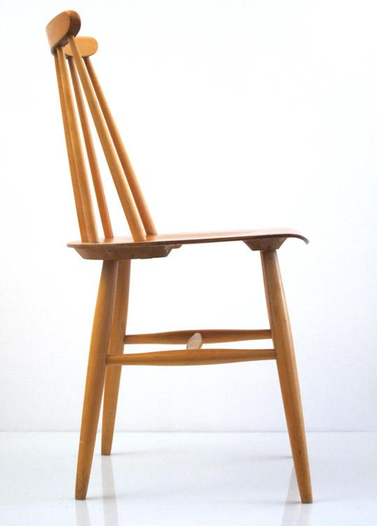 4 Tapiovaara Fanett vintage dining chairs