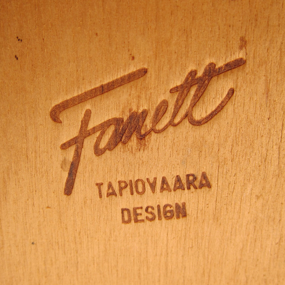 4 tapiovaara fanett vintage dining chairs. Black Bedroom Furniture Sets. Home Design Ideas