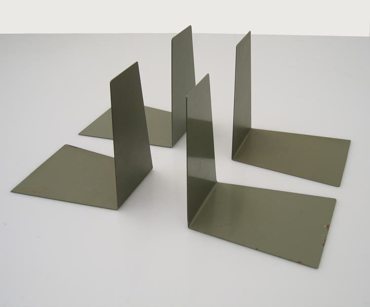 4 bauhaus style vintage bookends