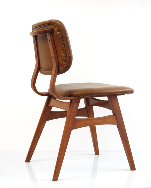 Plywood Chairs 60s Vintage Retro