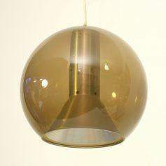 4 x Raak globe vintage retro pendant lamps