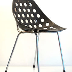 6 Pierre Guariche fifties vintage Coquillage design chairs