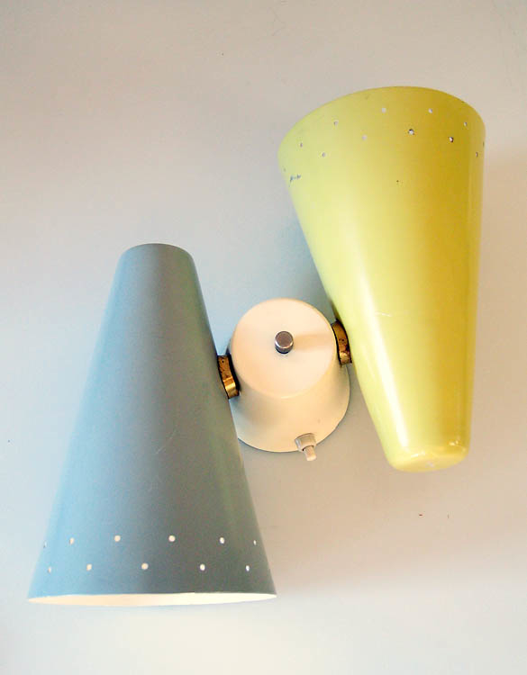Anvia vintage fifties retro sconce wall lamp
