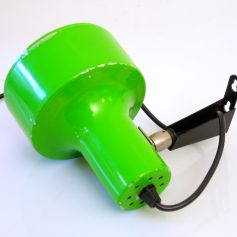 Anvia wall lamp, wall lamp, green seventies