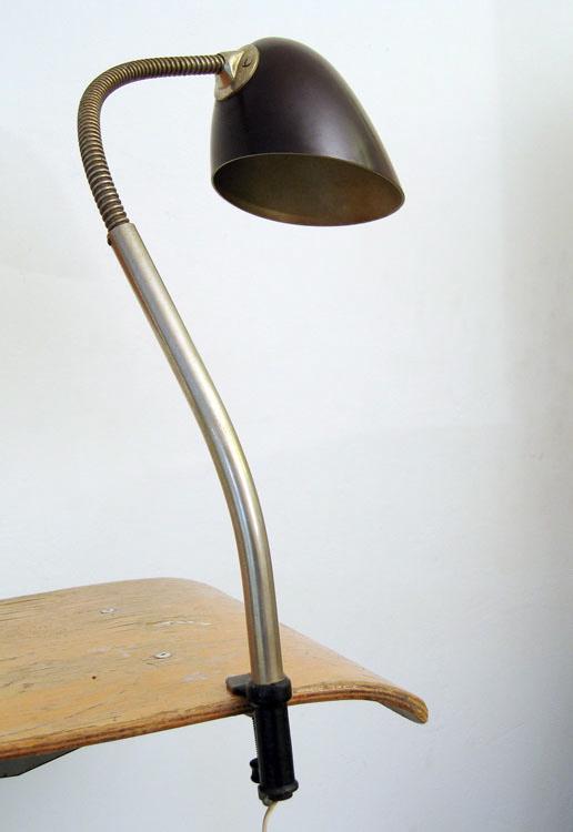 Bauhaus Design Bakelite Vintage Desk Lamp
